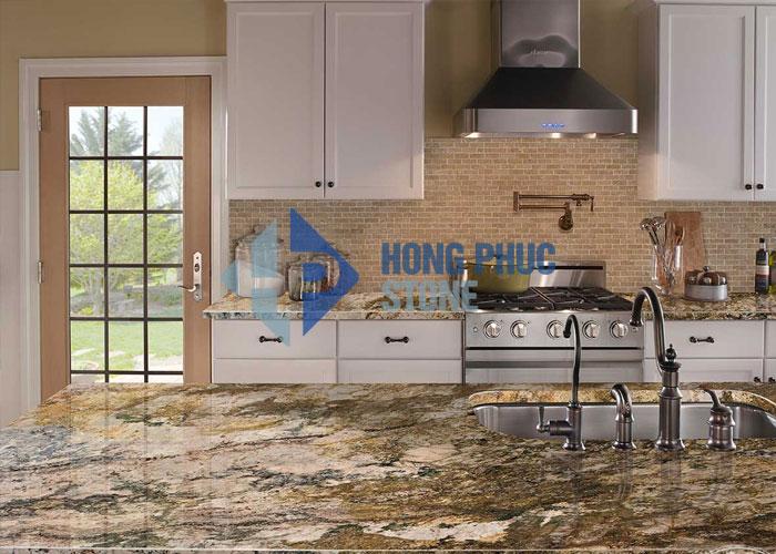 Đá Granite bàn bếp Azurie
